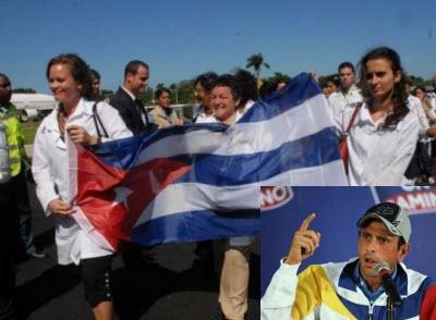 colaboradores cubanos en venezuela