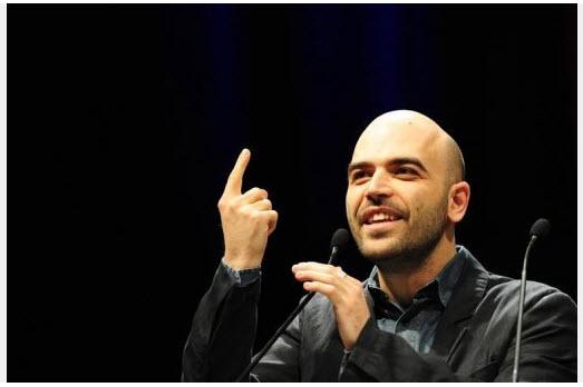 Roberto Saviano. Foto: AFP