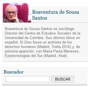 Boaventura de Sousa Santos en Espejos extraños