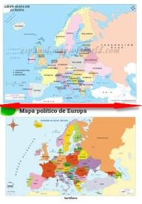 europa mapas