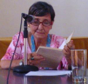 Lina de Feria en la Casa del Alba. Foto:Lourdes Llera