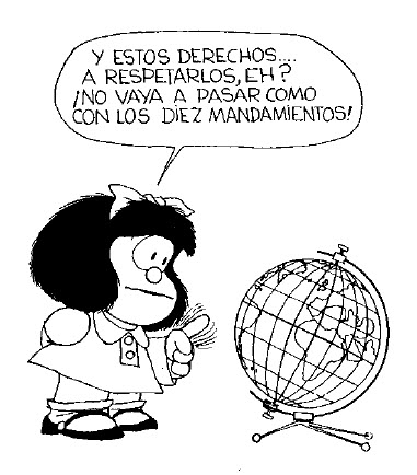 Quino Mafalda unicef