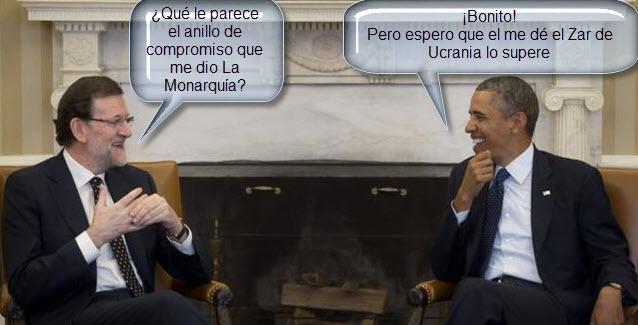 rajoy & obama charlan animadamente