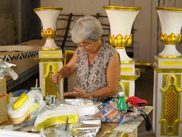 Mary Pérez en La Parranda, barrio ñáñacos