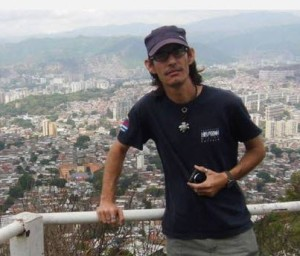 Geovannys Manso Sendán en Carcaras, Venezuela