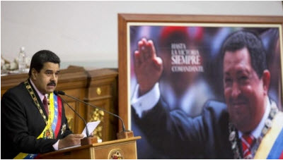 Maduro sucesor de Chavez