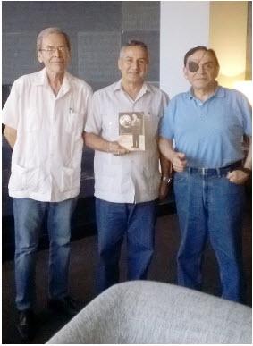 Walter Juanito y Rolando en Meliá Cohíba La Habana