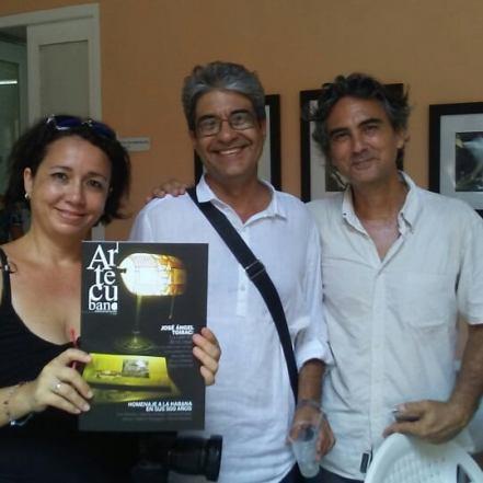 artecubano presentación Leonor Menes JA Hdez & Noel Nápoles