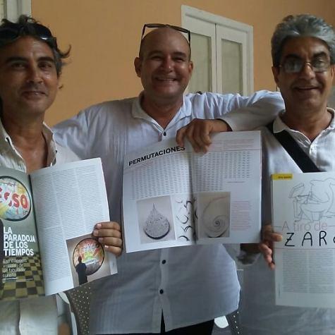 artecubano presentación Noel Nápoles Vladimir Rguez & J A Hdez